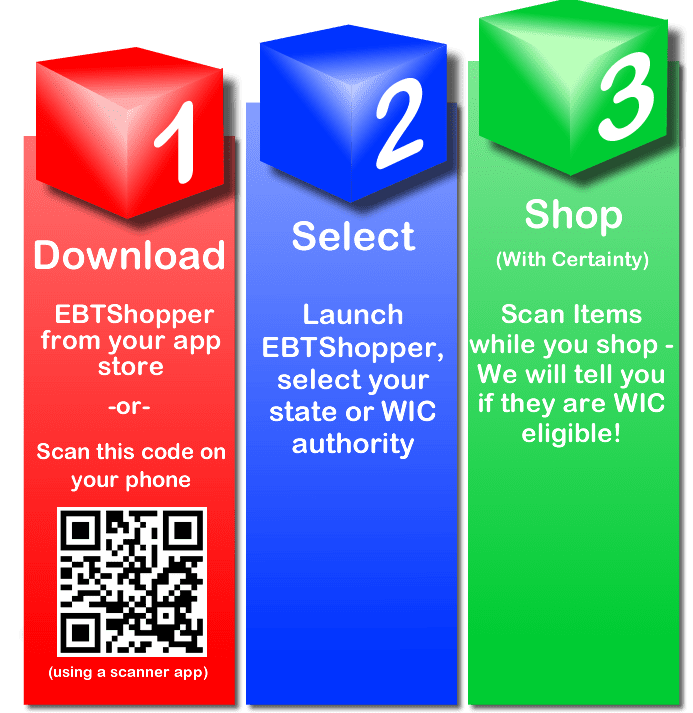 WIC EBT Shopper installation instructions