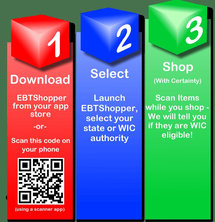 WIC EBT Shopper installation instructions