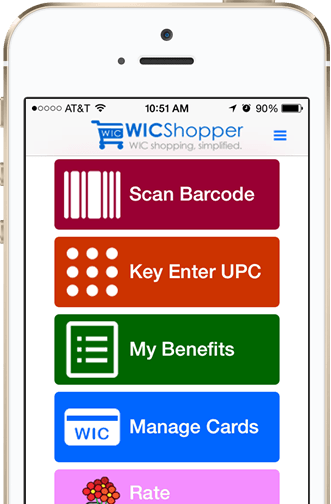WIC Smartphone Application