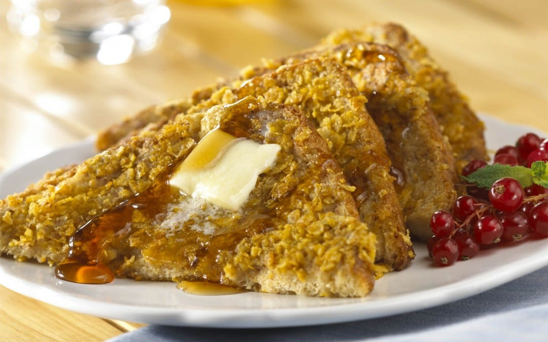 A quick cheat that makes great French toast crispy on the outside and soft on the inside