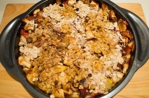 WIC recipes apple crisp