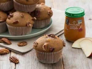 WIC recipe apple spiced muffins from beech nut