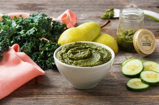 Pear kale and cucumber pure jpma inc wic homemade baby food recipes forumfinder Images