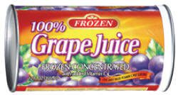 Frozen Grape Juice