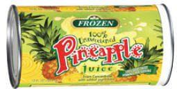 Frozen Pineapple Juice