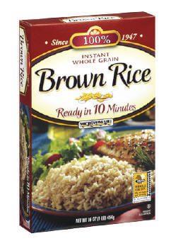 Коричневый рис быстрого приготовления