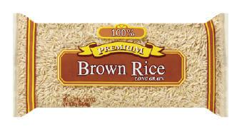 Пакет коричневый рис