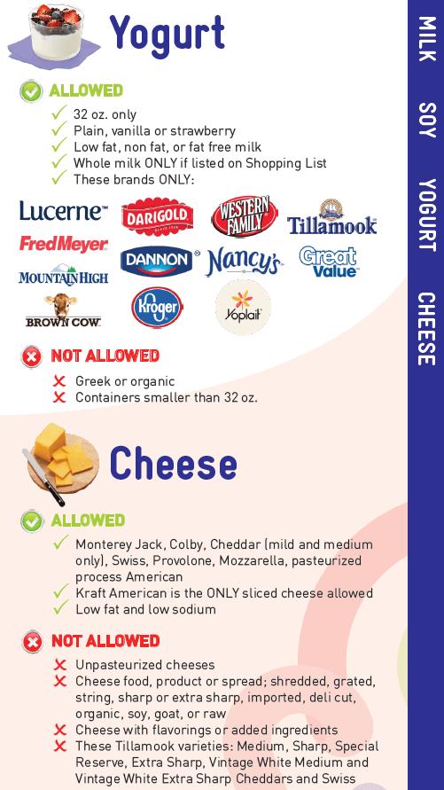 Alaska WIC Food Guide English   JPMA, Inc
