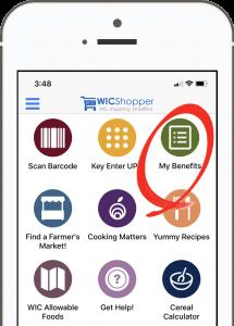 Check WIC Benefit Balance