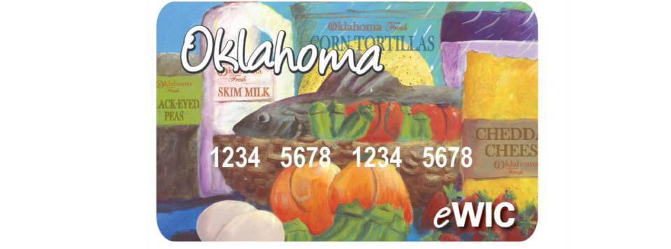 Oklahoma WIC Card