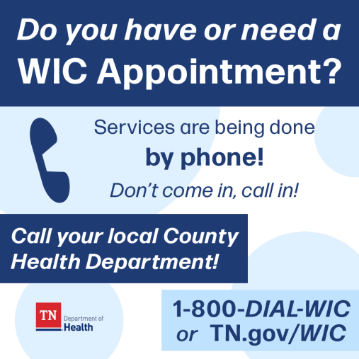 Tennessee WIC Appointments